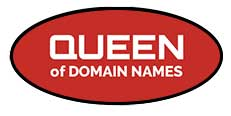 Queen of Domain Names, Footer Logo 2